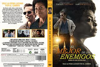 The Best of Enemies - El Mejor de los Enemigos - Cover - DVD
